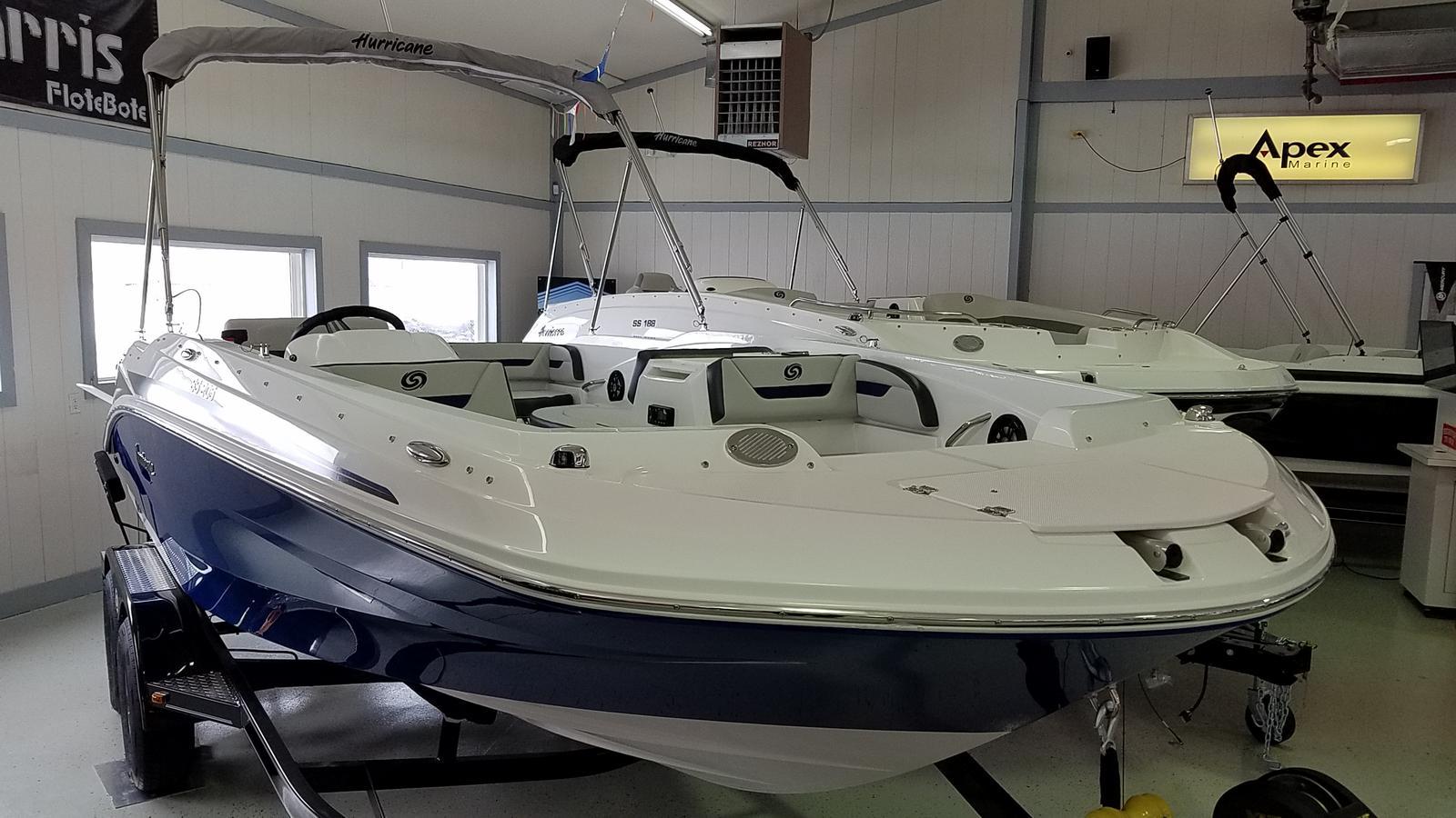 2021 Hurricane boat for sale, model of the boat is SunDeck Sport 205 OB & Image # 2 of 9