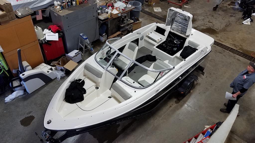2012 Bayliner boat for sale, model of the boat is 175 BR & Image # 1 of 10