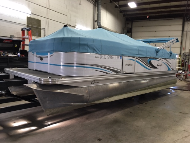 2018 APEX PONTOONS QWEST LS 820 XRE CRUISE for sale