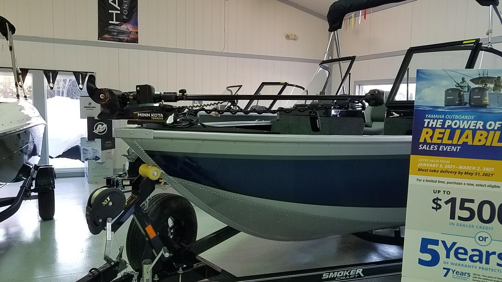 2021 Smoker Craft boat for sale, model of the boat is Adventurer 188 Pro DC & Image # 2 of 21