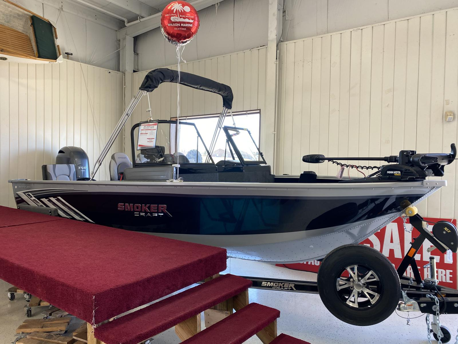2021 Smoker Craft boat for sale, model of the boat is Adventurer 188 DC & Image # 1 of 16