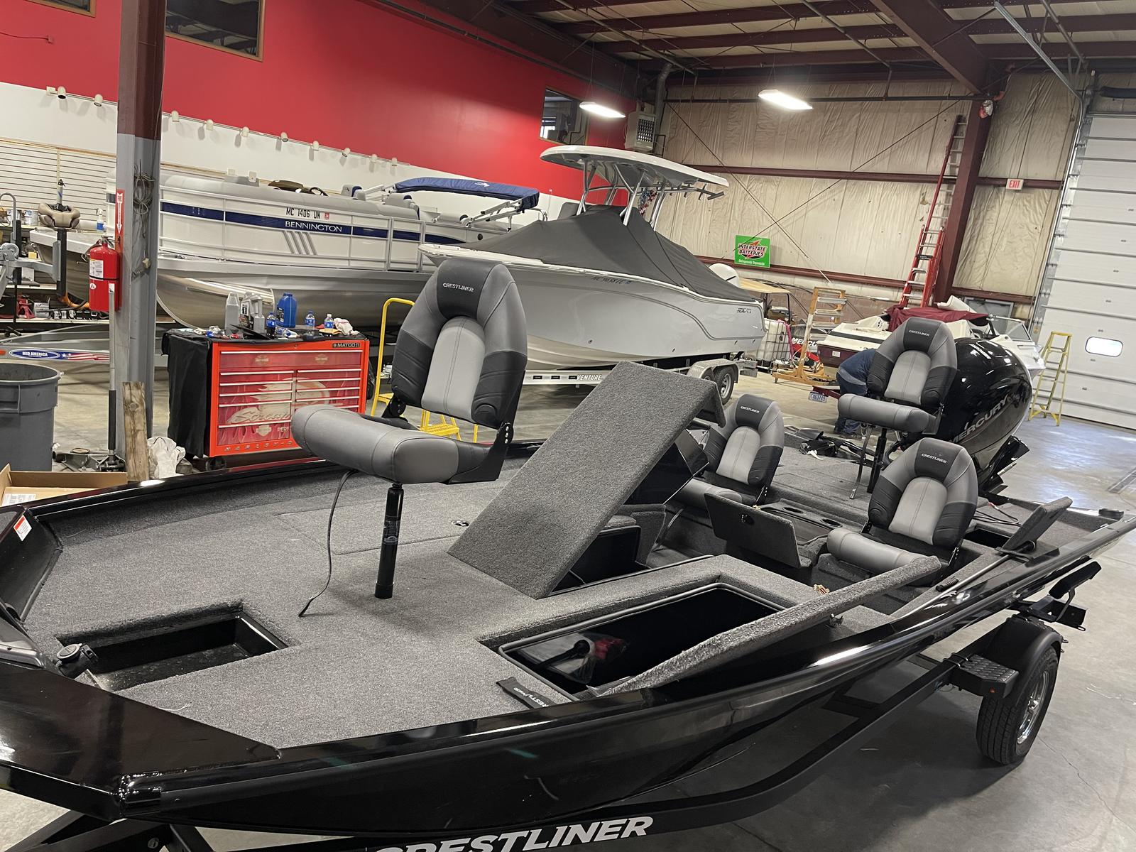 2020 Crestliner boat for sale, model of the boat is XF 189 & Image # 3 of 25