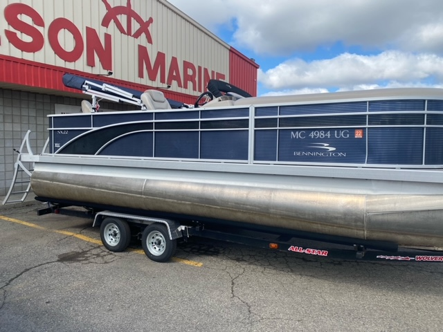 2019 Bennington boat for sale, model of the boat is 22 SSXAPG & Image # 1 of 11