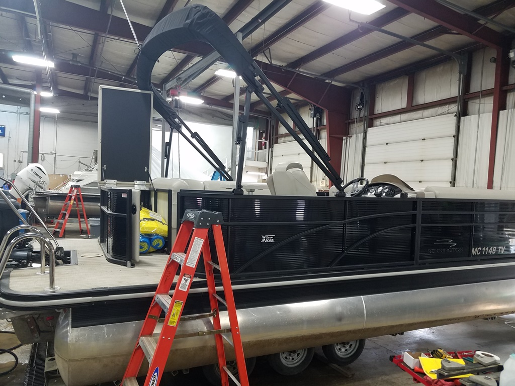 2016 Bennington boat for sale, model of the boat is 21 SLX - Premium & Image # 5 of 16
