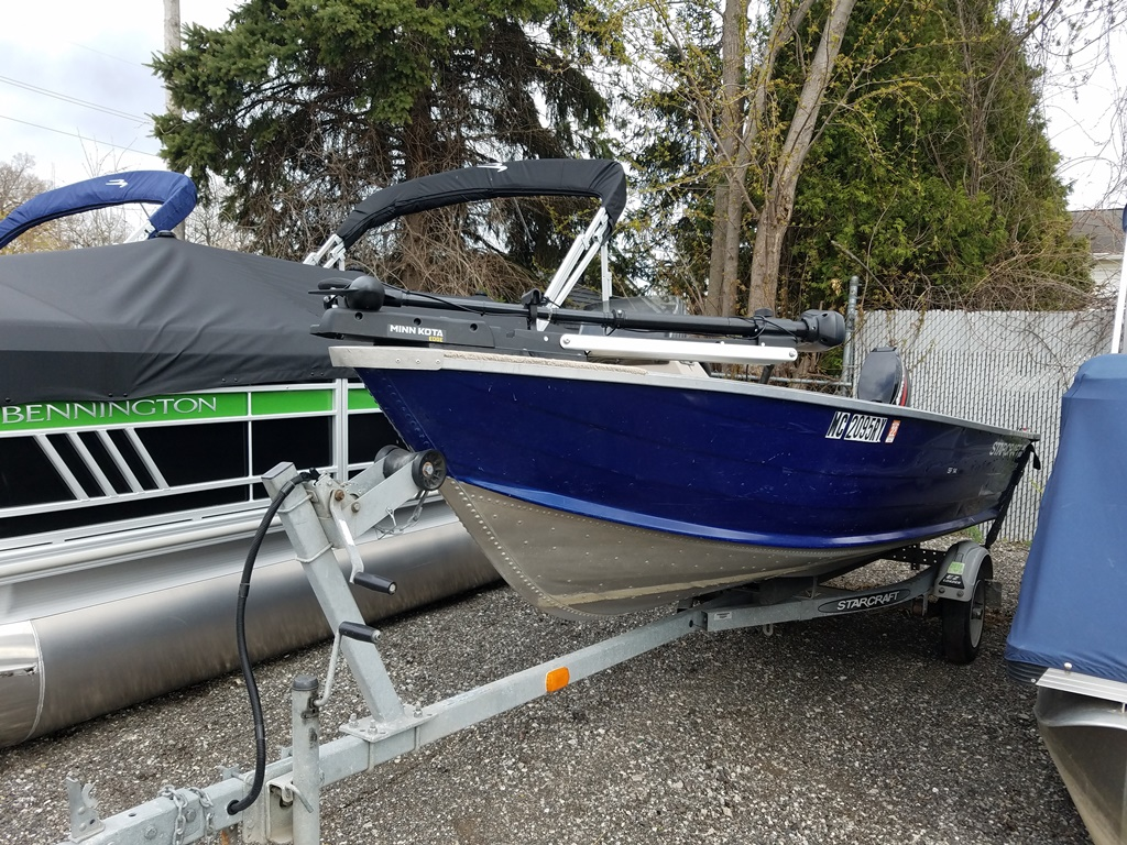 2001 Starcraft boat for sale, model of the boat is SF 14 & Image # 1 of 7