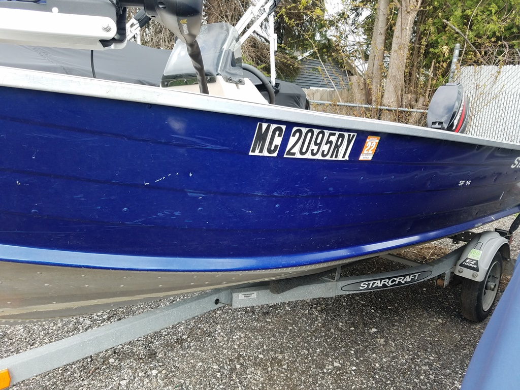 2001 Starcraft boat for sale, model of the boat is SF 14 & Image # 2 of 7