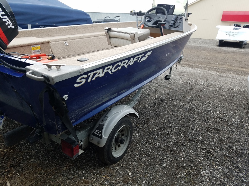 2001 Starcraft boat for sale, model of the boat is SF 14 & Image # 3 of 7