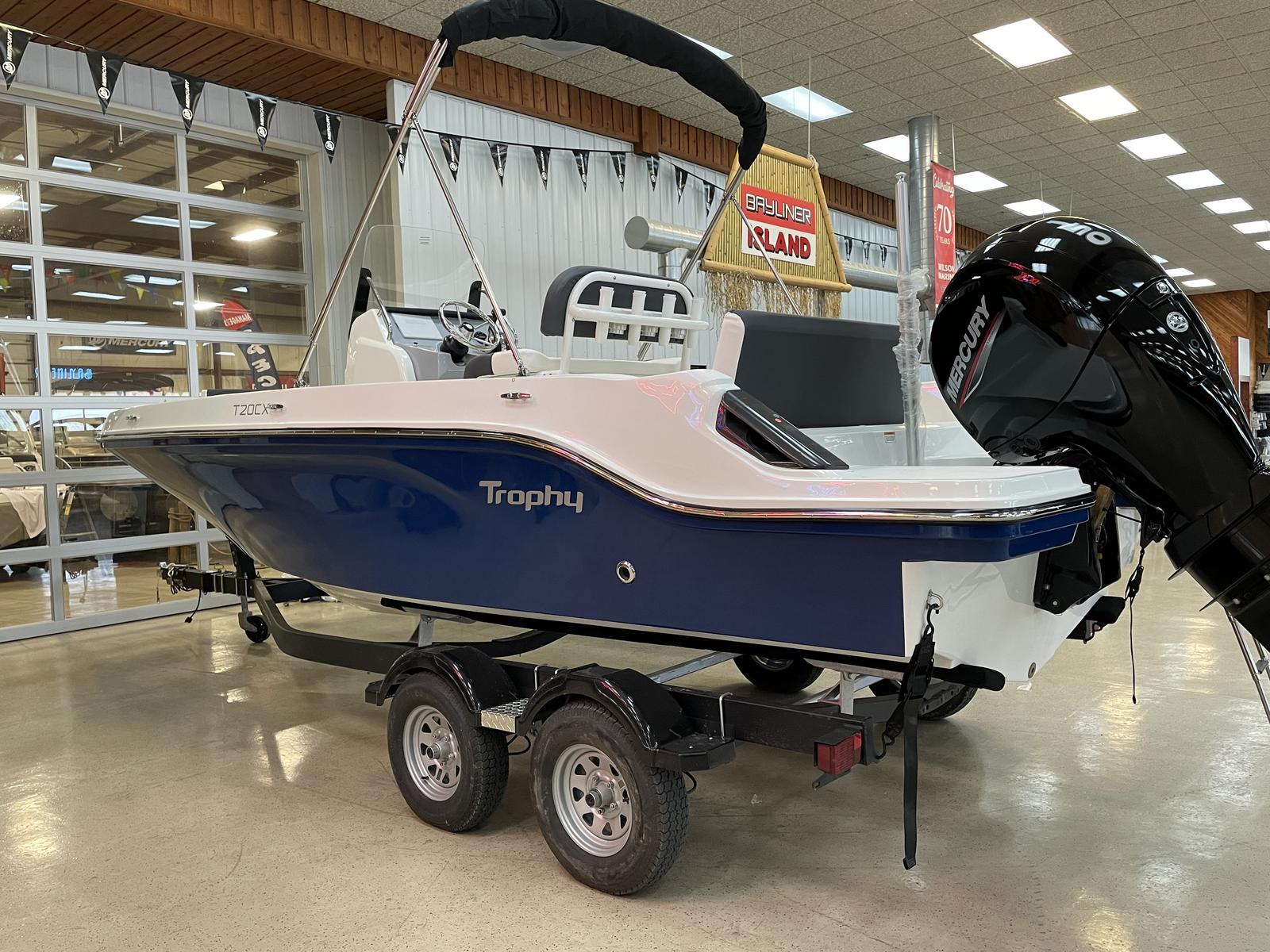 2021 Bayliner boat for sale, model of the boat is T20CC & Image # 3 of 12