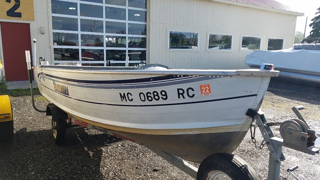 1997 Sylvan boat for sale, model of the boat is Sea Snapper 14 & Image # 2 of 5