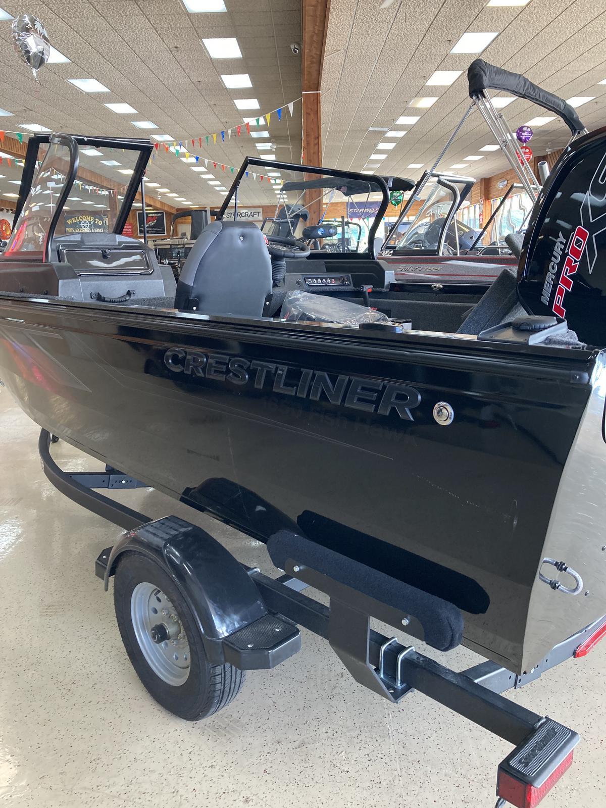2021 CRESTLINER 1650 FISH HAWK WALK THROUGH for sale