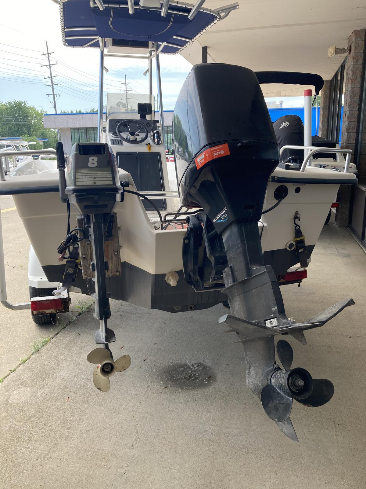 1999 Carolina Skiff boat for sale, model of the boat is Sea Chaser 210 DLX & Image # 2 of 3