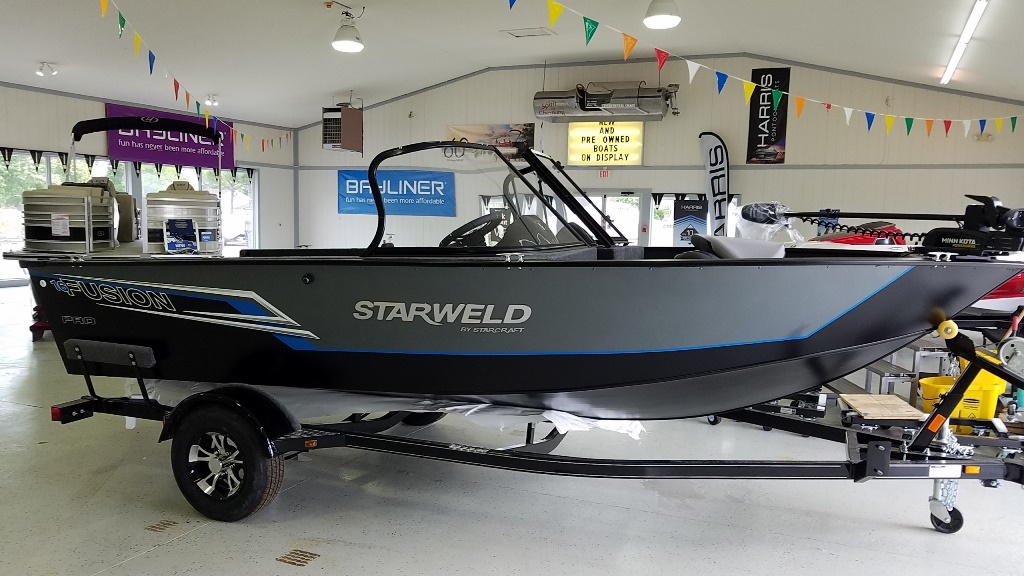 2021 Starweld boat for sale, model of the boat is Fusion Pro 16 DC Pro & Image # 1 of 7