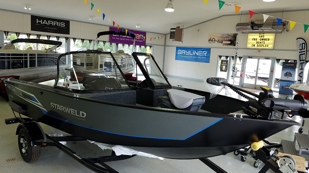 2021 Starweld boat for sale, model of the boat is Fusion Pro 16 DC Pro & Image # 2 of 7