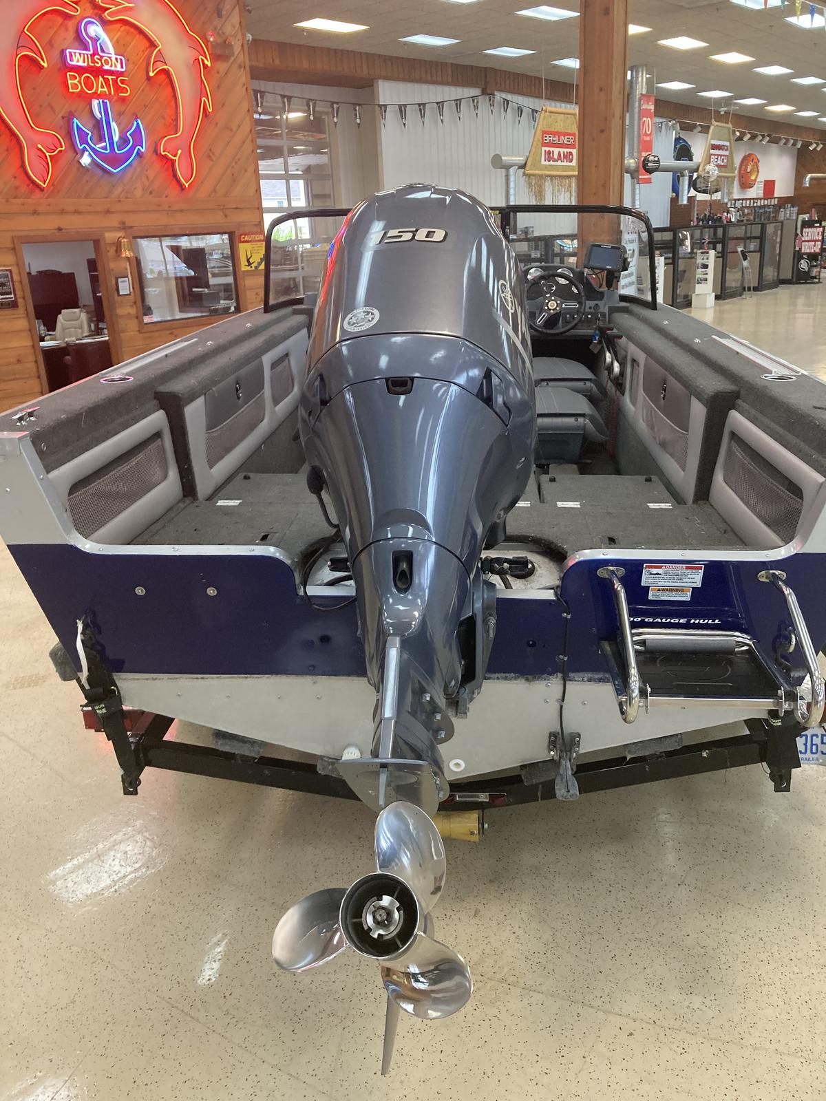 2016 Starweld boat for sale, model of the boat is 20 Fusion Pro DC & Image # 2 of 7