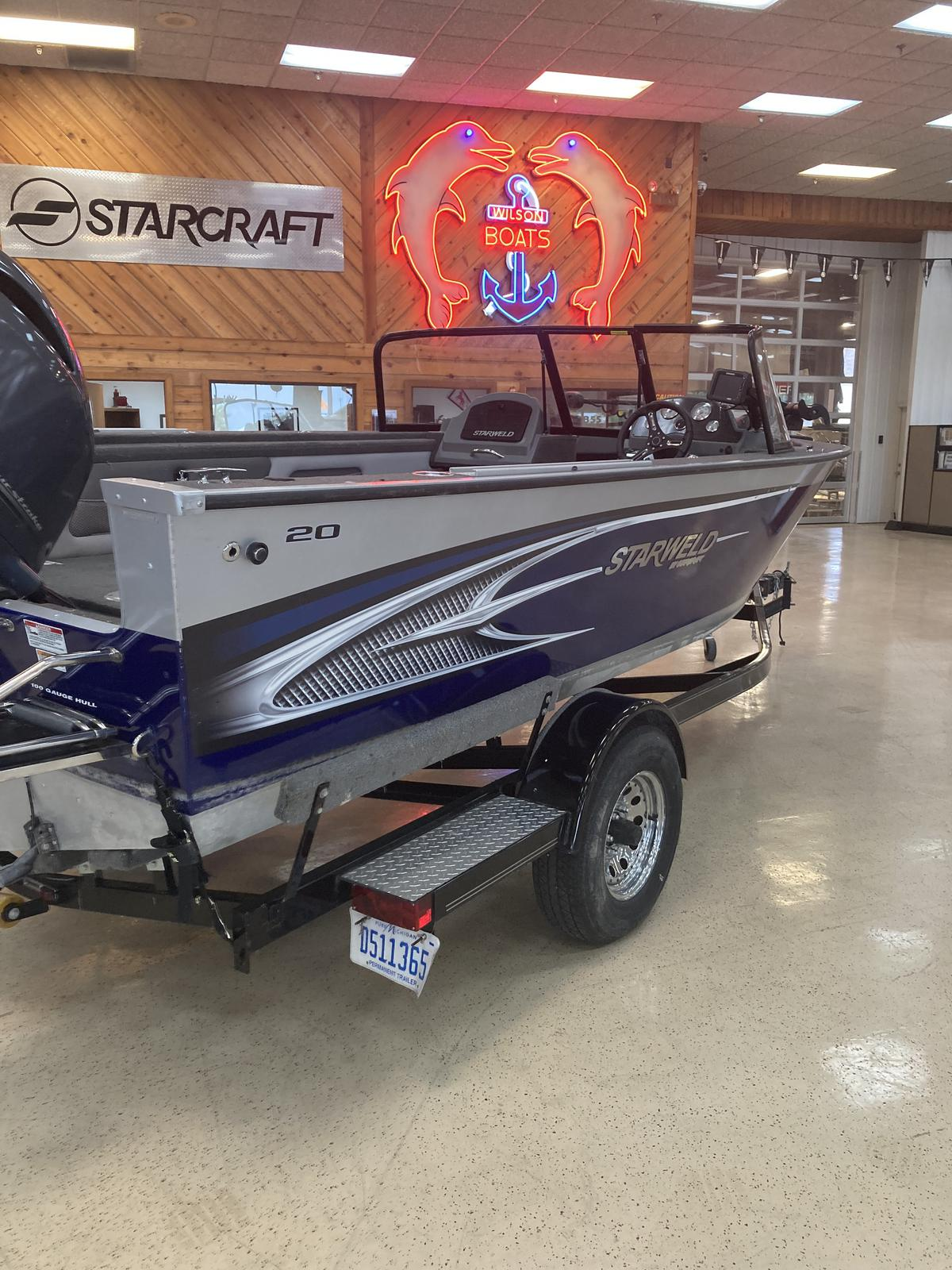 2016 Starweld boat for sale, model of the boat is 20 Fusion Pro DC & Image # 3 of 7