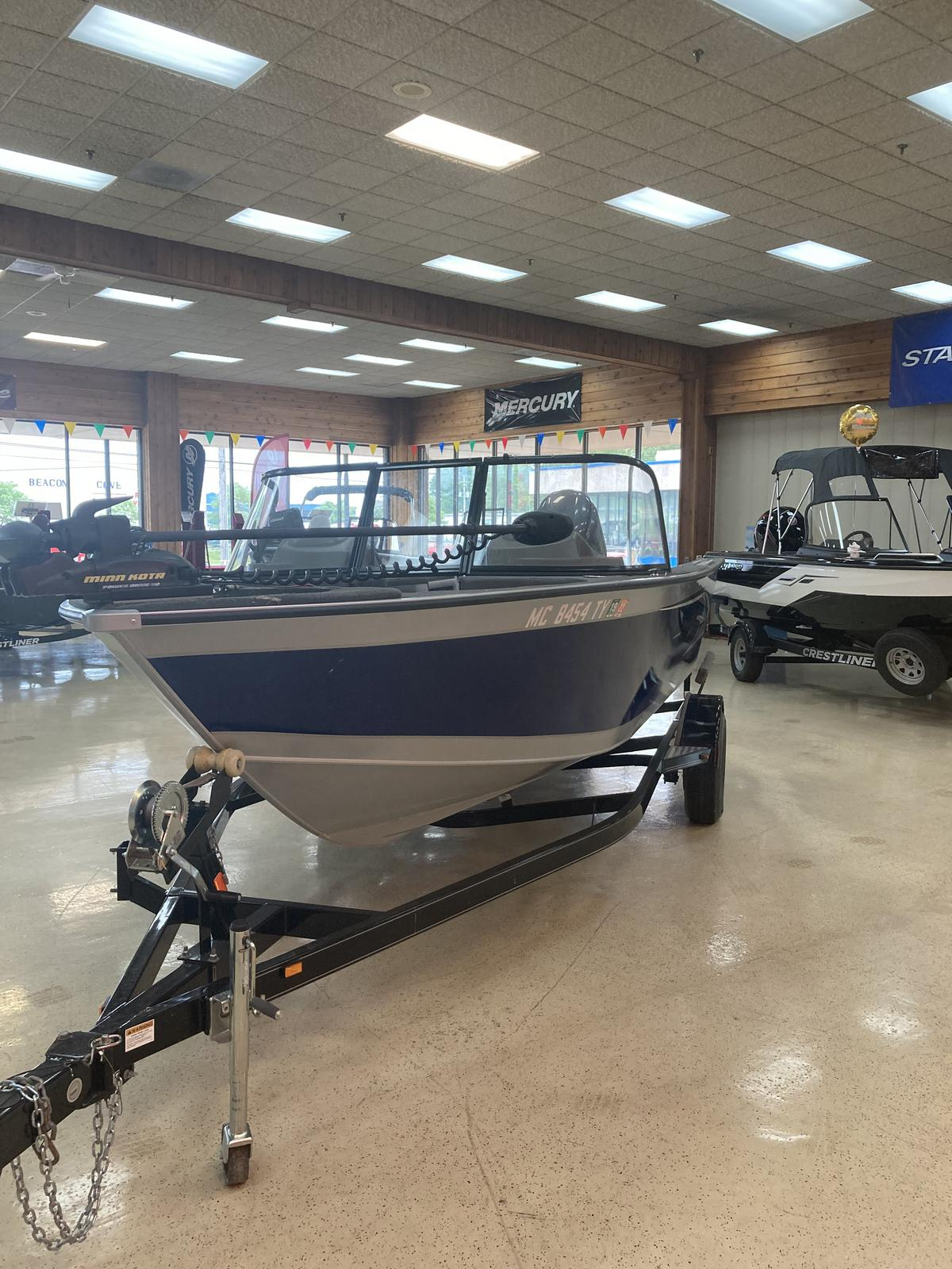 2016 Starweld boat for sale, model of the boat is 20 Fusion Pro DC & Image # 4 of 7