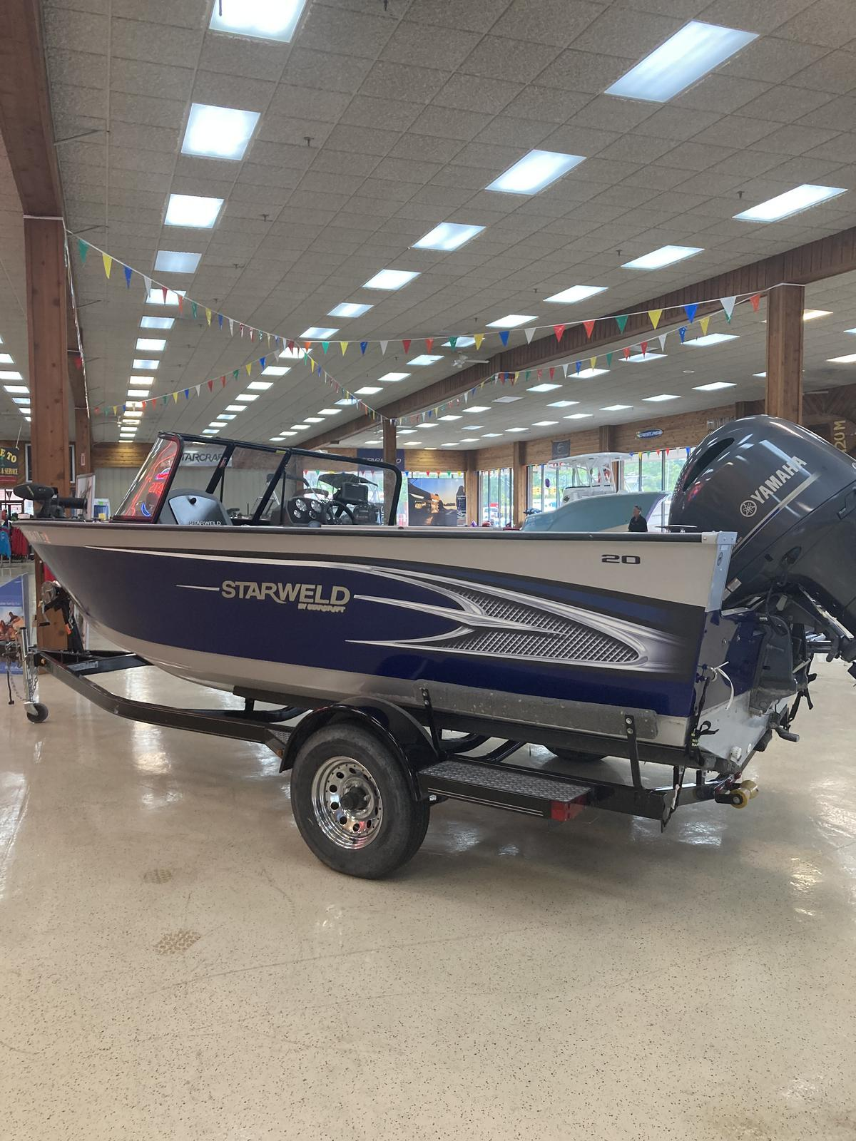 2016 Starweld boat for sale, model of the boat is 20 Fusion Pro DC & Image # 1 of 7