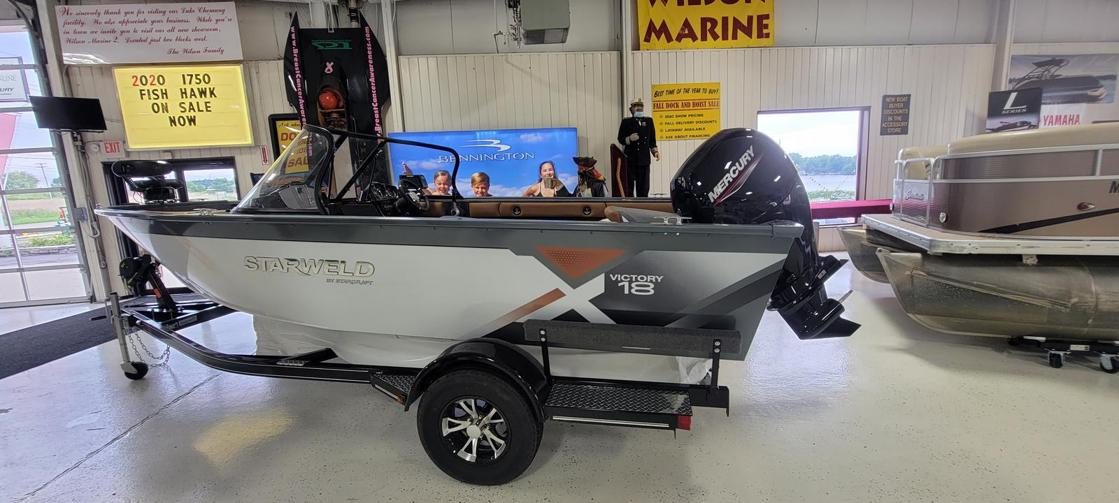 2021 Starweld boat for sale, model of the boat is Victory 18 DC & Image # 1 of 14