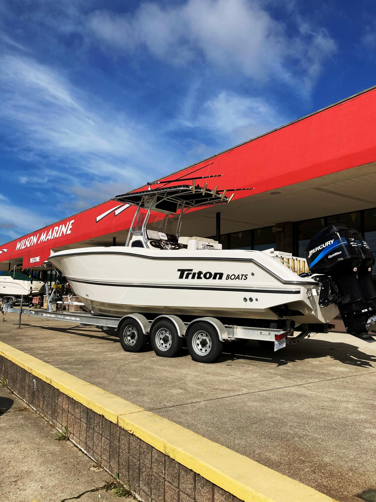 2002 Triton boat for sale, model of the boat is 2700 & Image # 7 of 7