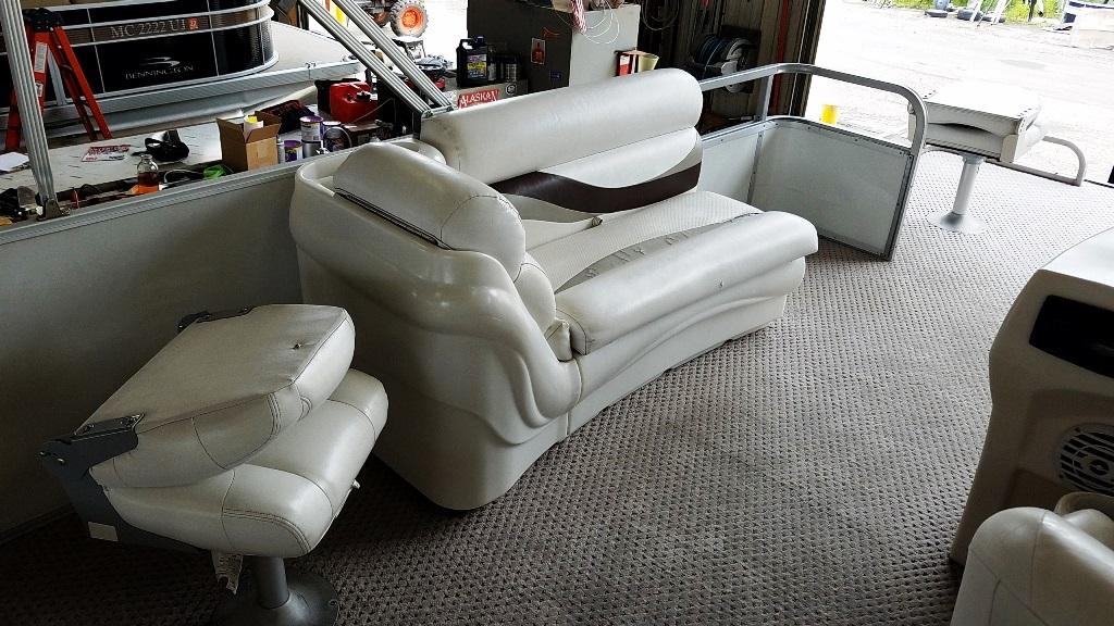 2007 Crest Pontoons boat for sale, model of the boat is Sunset Bay 190 Fish DL & Image # 5 of 10