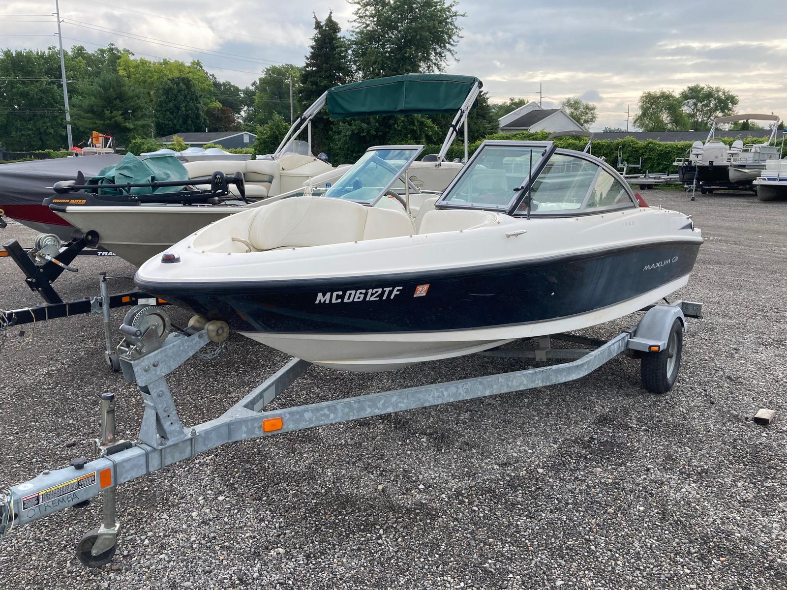 2008 Maxum boat for sale, model of the boat is 1800 MX & Image # 10 of 12