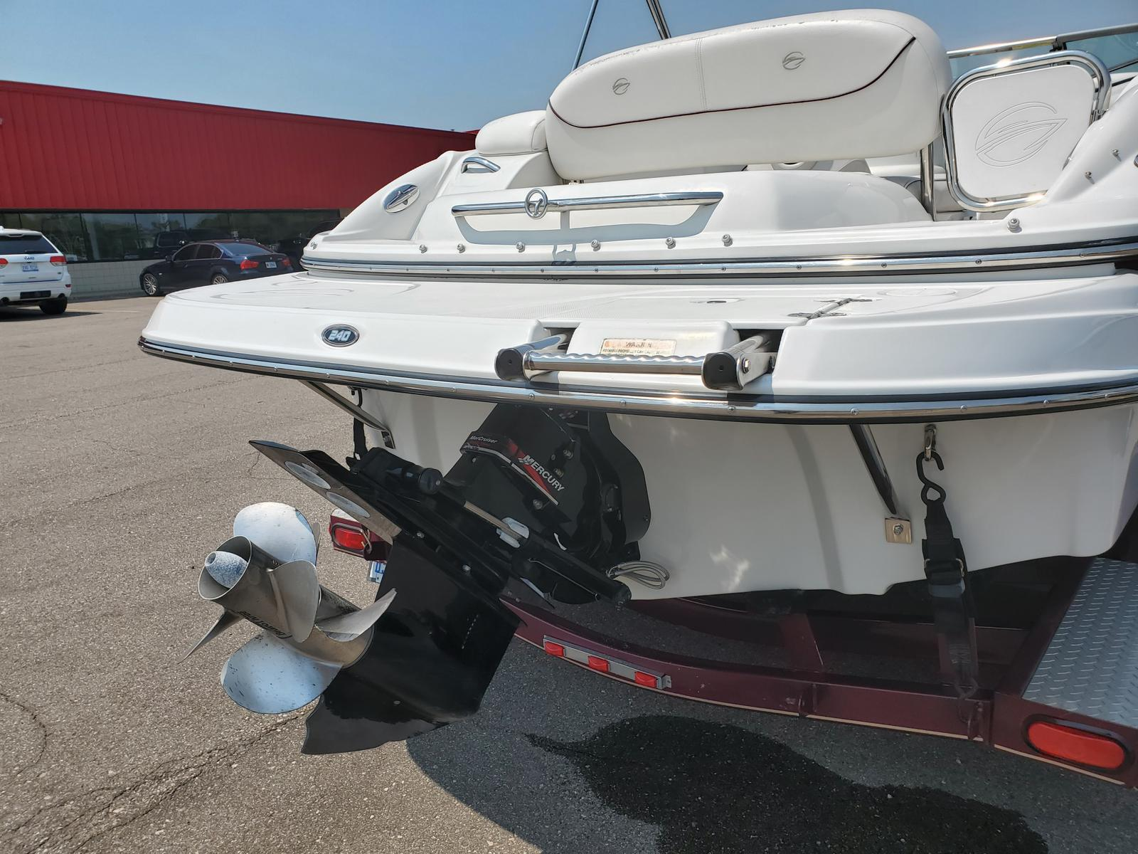 2004 Crownline boat for sale, model of the boat is Deck Boat 240 EX & Image # 2 of 12