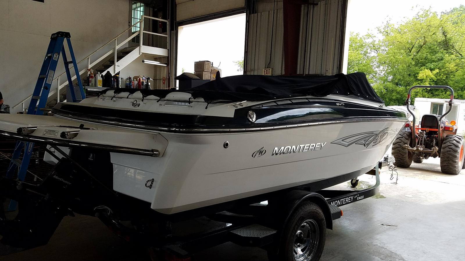 2013 Monterey boat for sale, model of the boat is Sport Boat 184FS & Image # 2 of 10