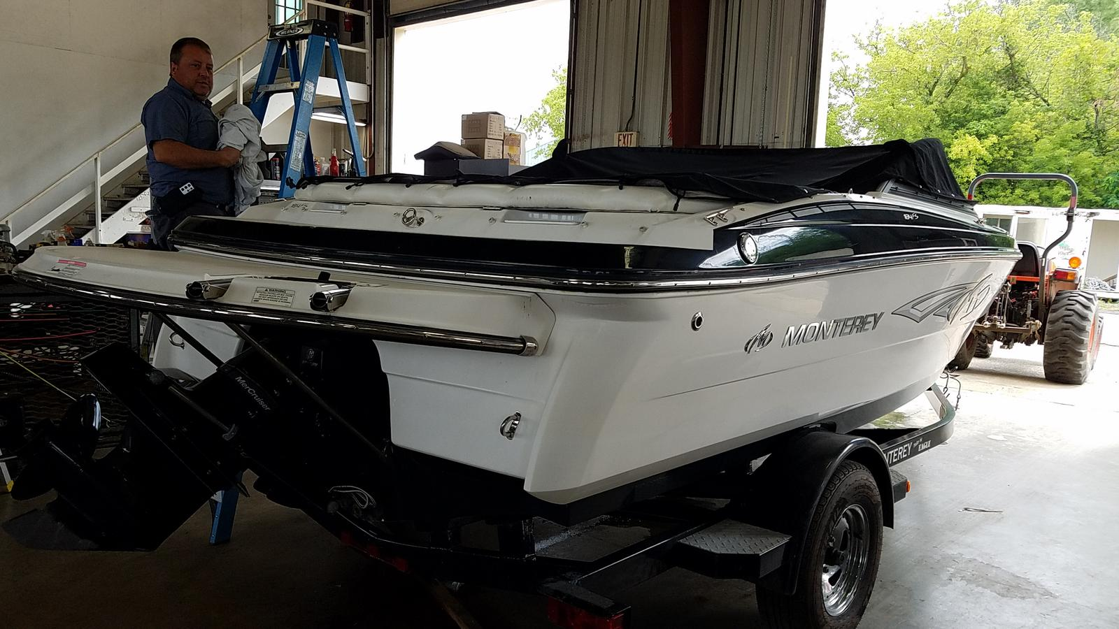 2013 Monterey boat for sale, model of the boat is Sport Boat 184FS & Image # 4 of 10