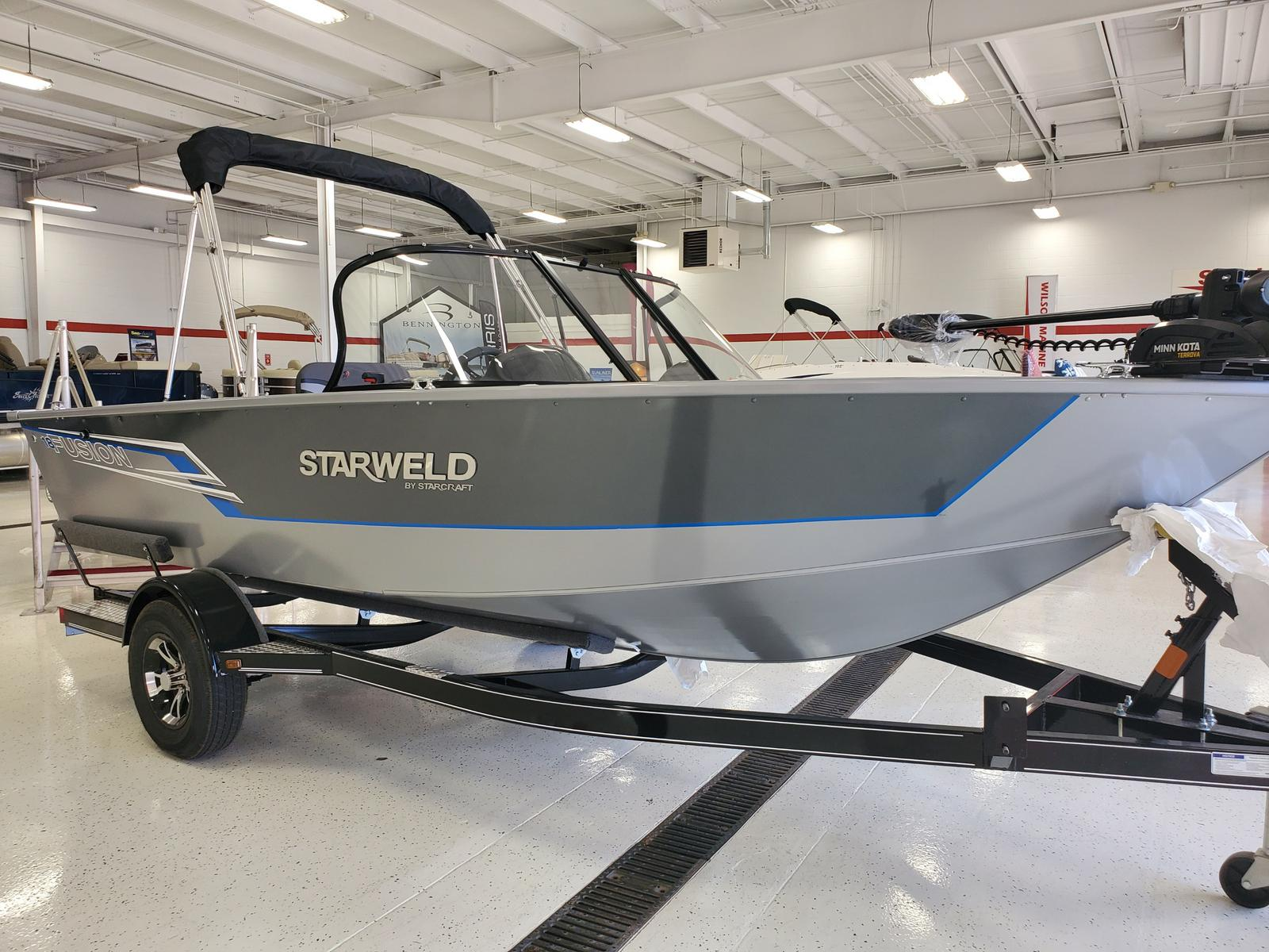 2021 Starweld boat for sale, model of the boat is Fusion 18 DC & Image # 1 of 11