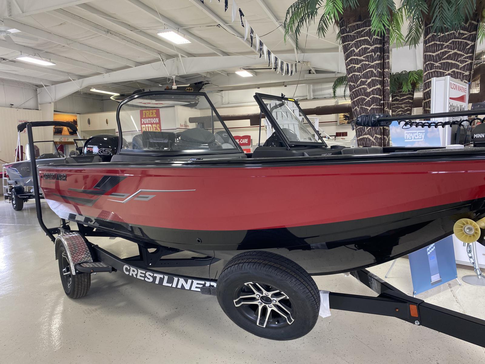 2021 Crestliner boat for sale, model of the boat is 1850 Super Hawk & Image # 1 of 27