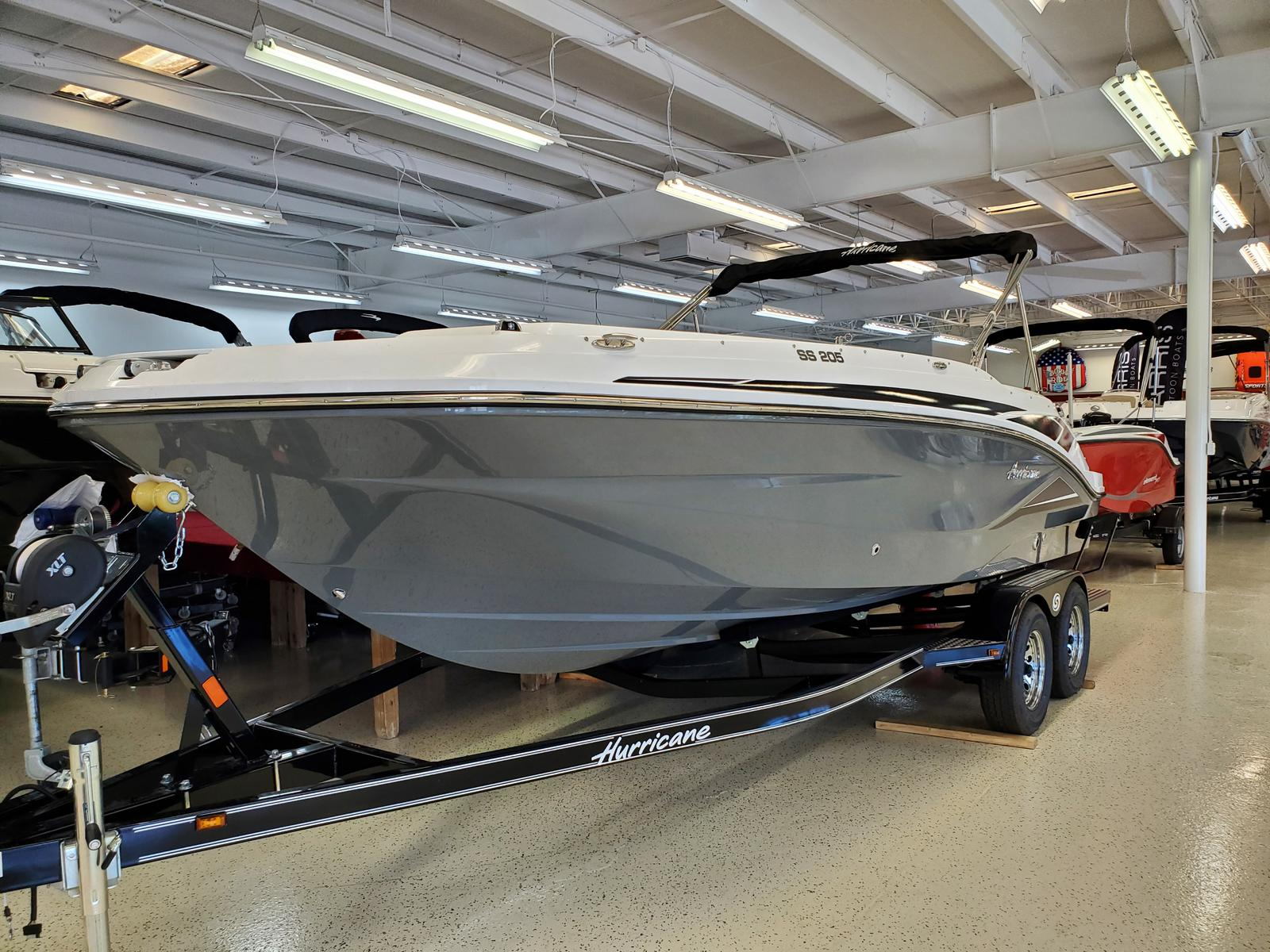 2021 Hurricane boat for sale, model of the boat is SunDeck Sport 205 IO & Image # 1 of 4