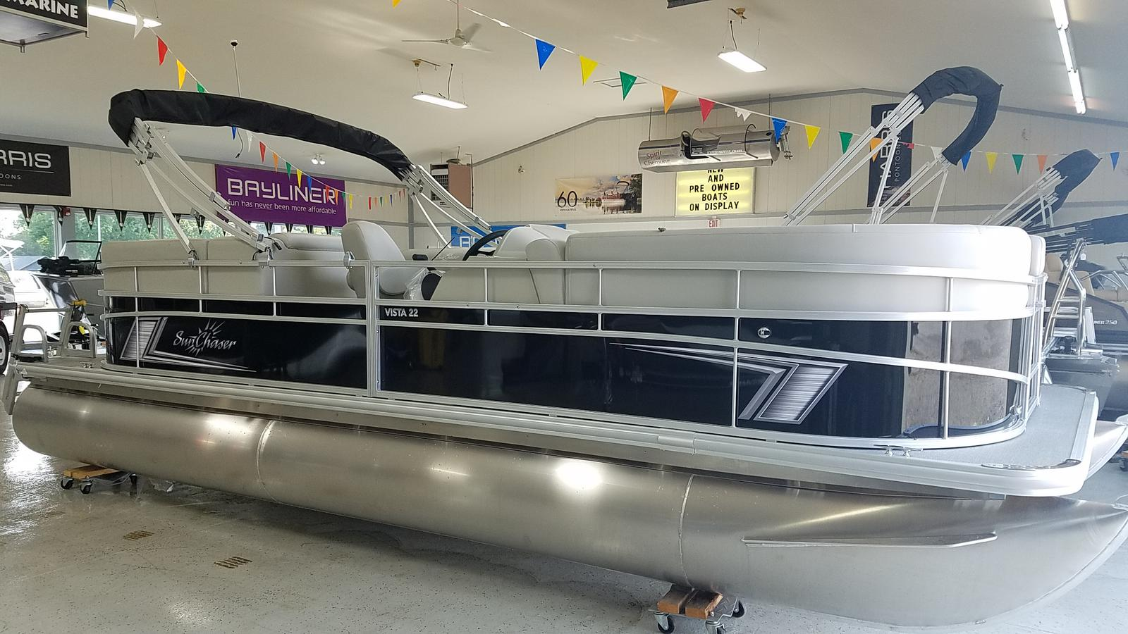 2021 SunChaser boat for sale, model of the boat is Vista 22 LR & Image # 1 of 7