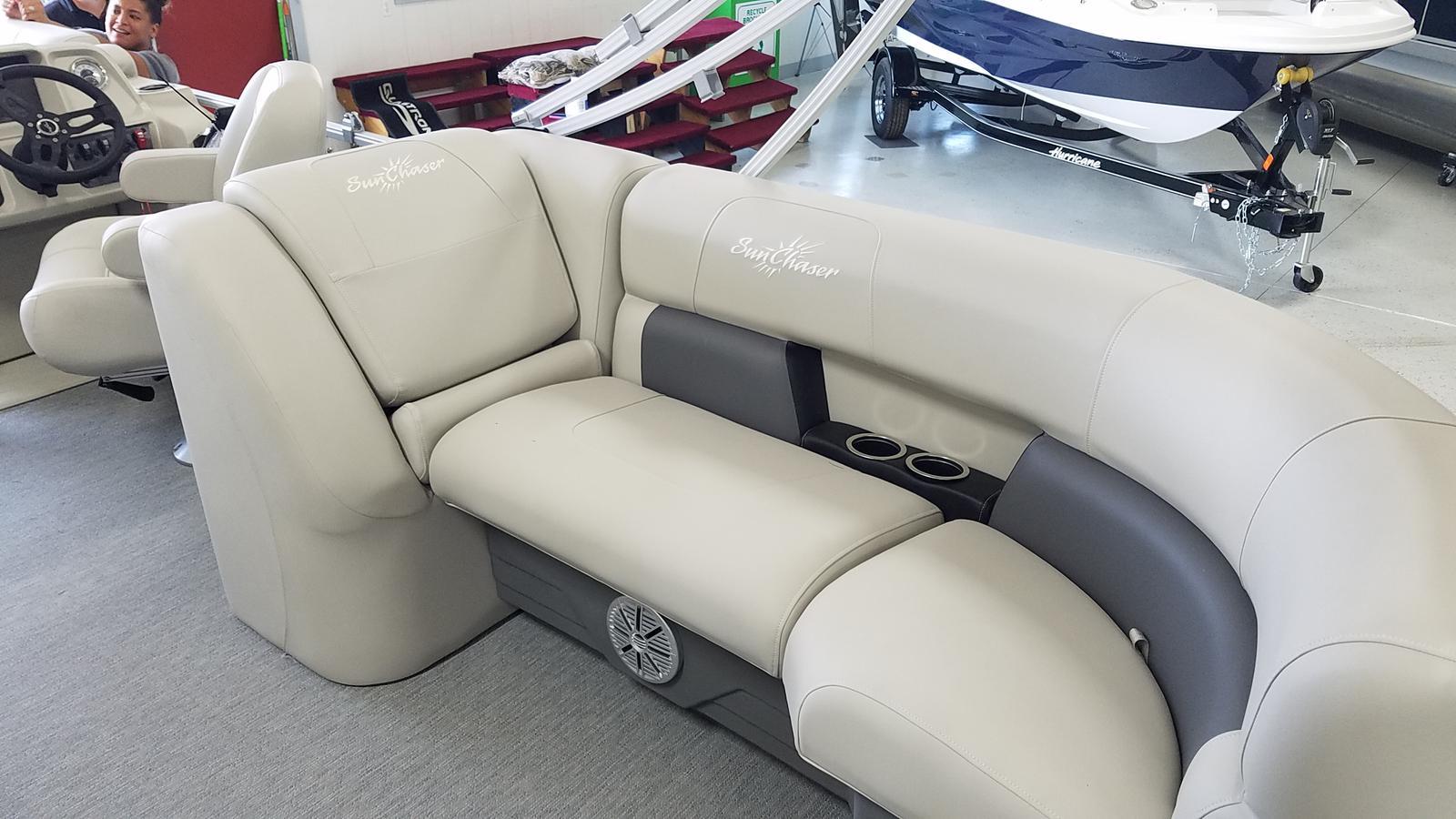2021 SunChaser boat for sale, model of the boat is Vista 22 LR & Image # 5 of 7