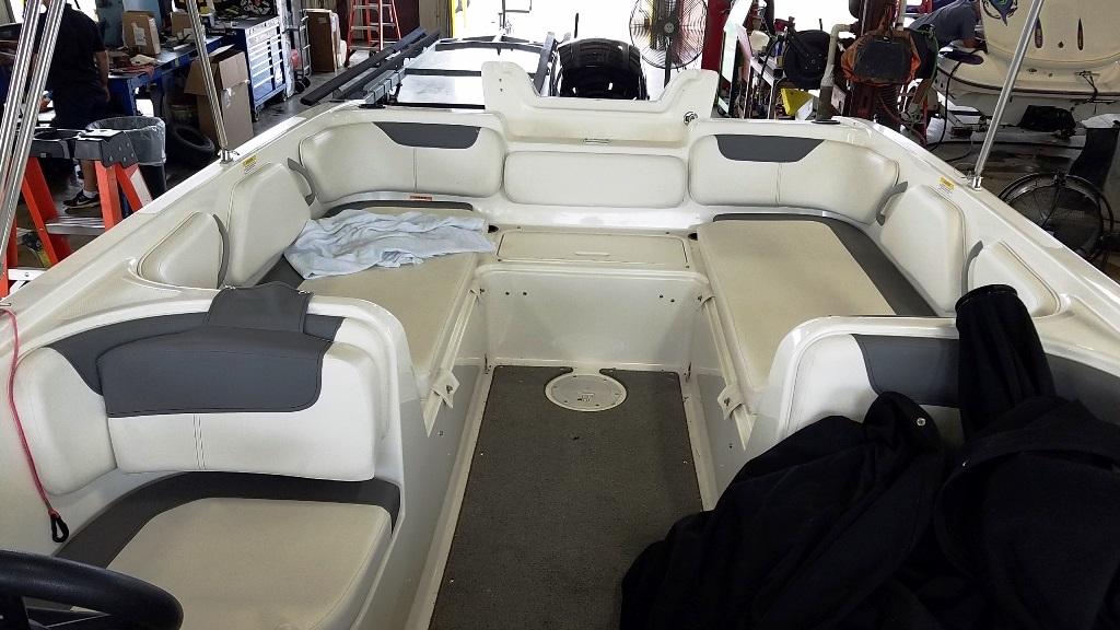 2017 Bayliner boat for sale, model of the boat is Element E21 & Image # 8 of 12