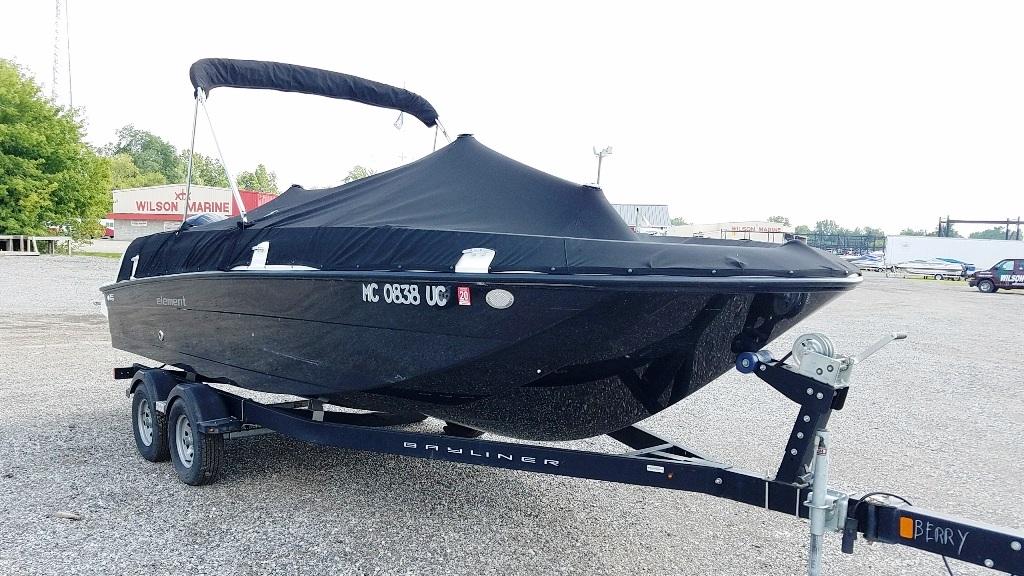 2017 Bayliner boat for sale, model of the boat is Element E21 & Image # 2 of 12