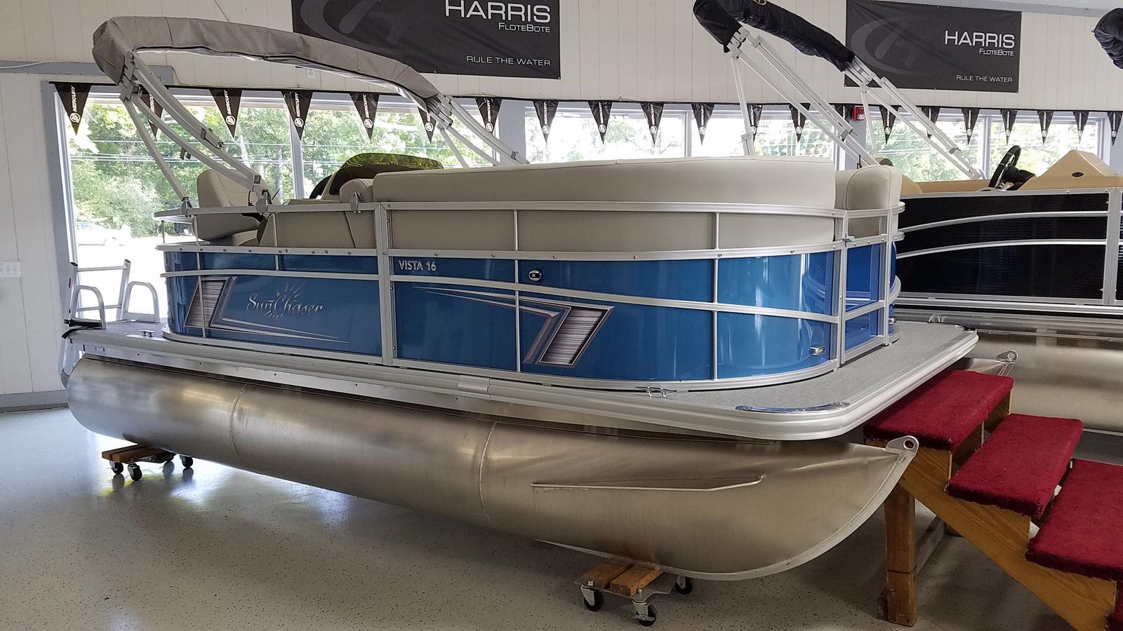 2021 SunChaser boat for sale, model of the boat is Vista 16 LR & Image # 1 of 16