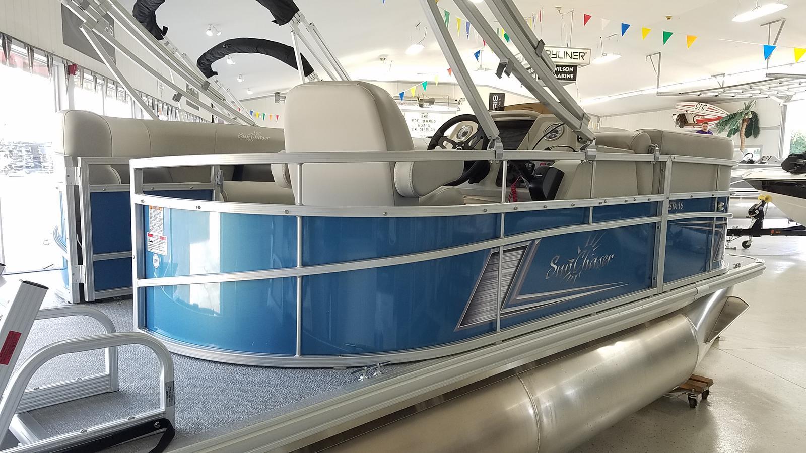 2021 SunChaser boat for sale, model of the boat is Vista 16 LR & Image # 2 of 16