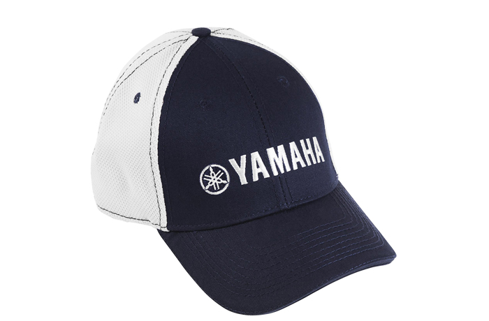 Yamaha Navy Hat with White Logo