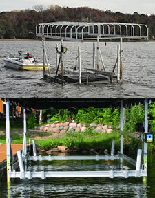 Floe Vertical boat Lifts