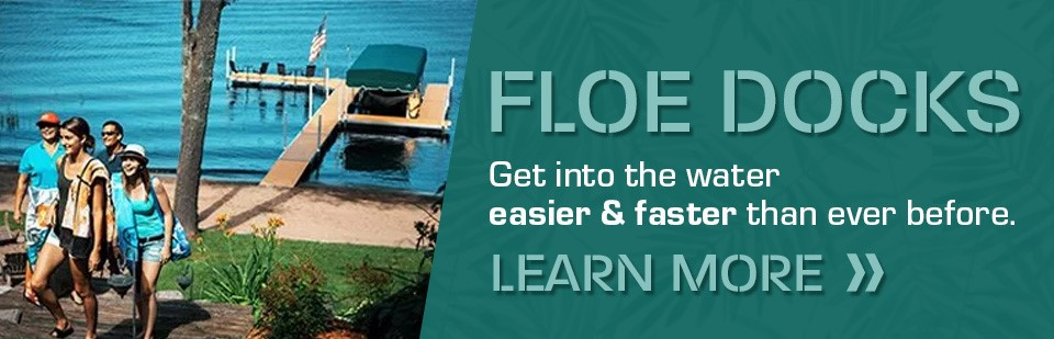 Shop For FLOE Docks at Lakes Area Powersports!