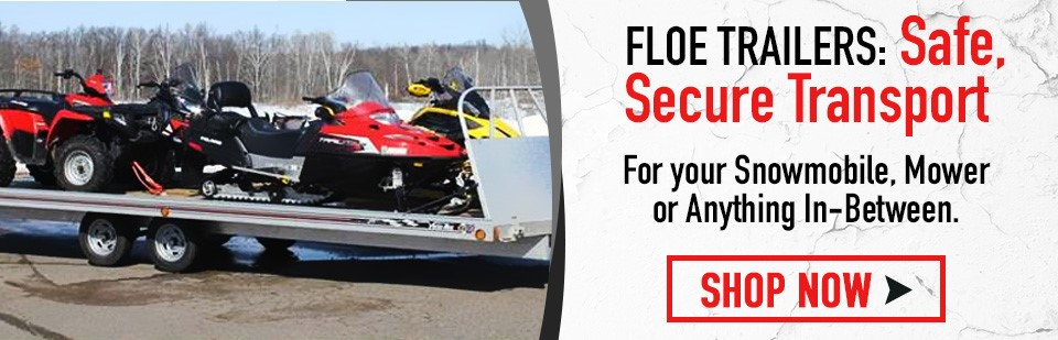 Shop Now For Floe Trailers!