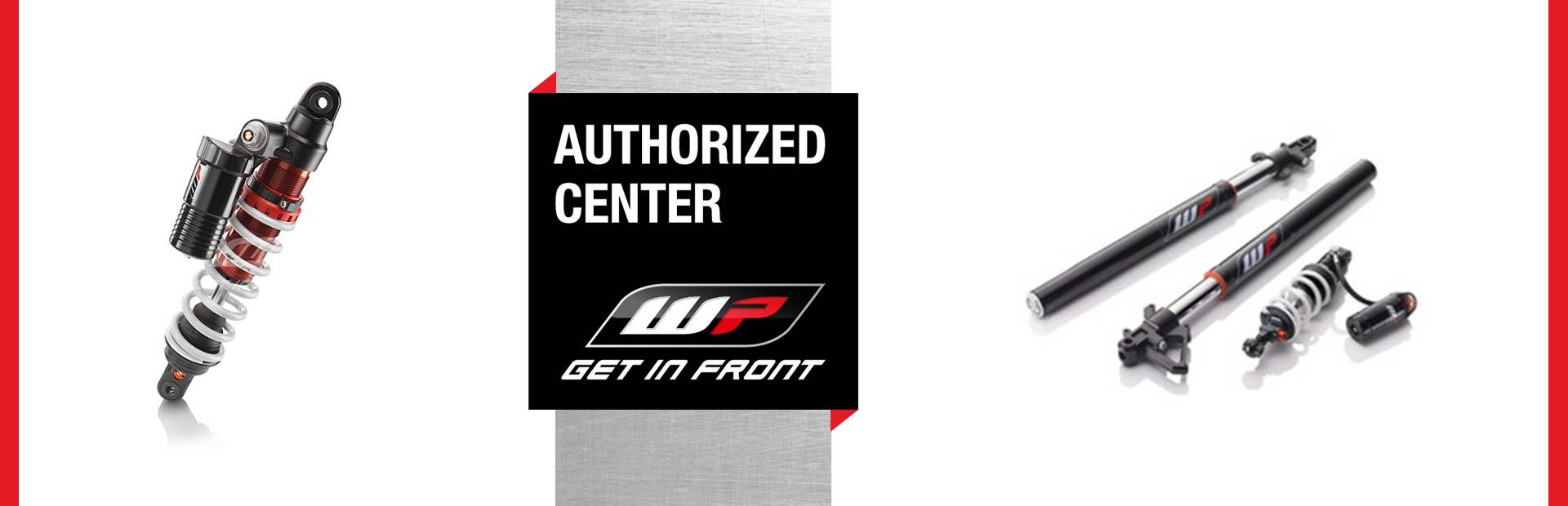 Authorized WP Suspension Dealer: Click here for more information!