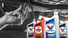 Valvoline Oil Graphic