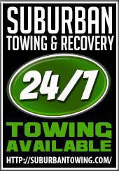 Suburban Towing & Recovery - 24/7 Towing Available