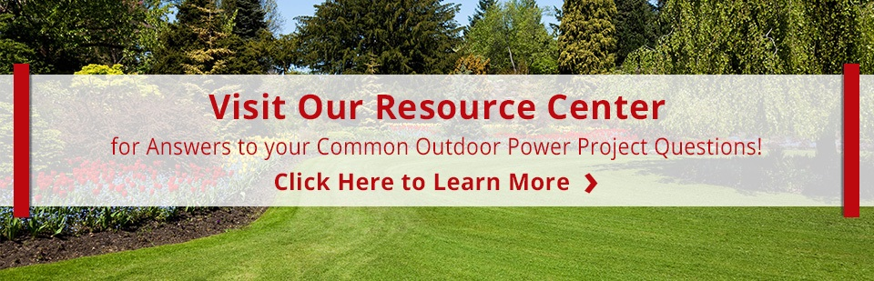 Outdoor Power Equipment FAQ