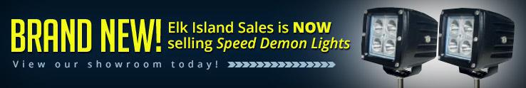 Brand New! Elk Island Sales is now selling Speed Demon Lights. View our showroom today!