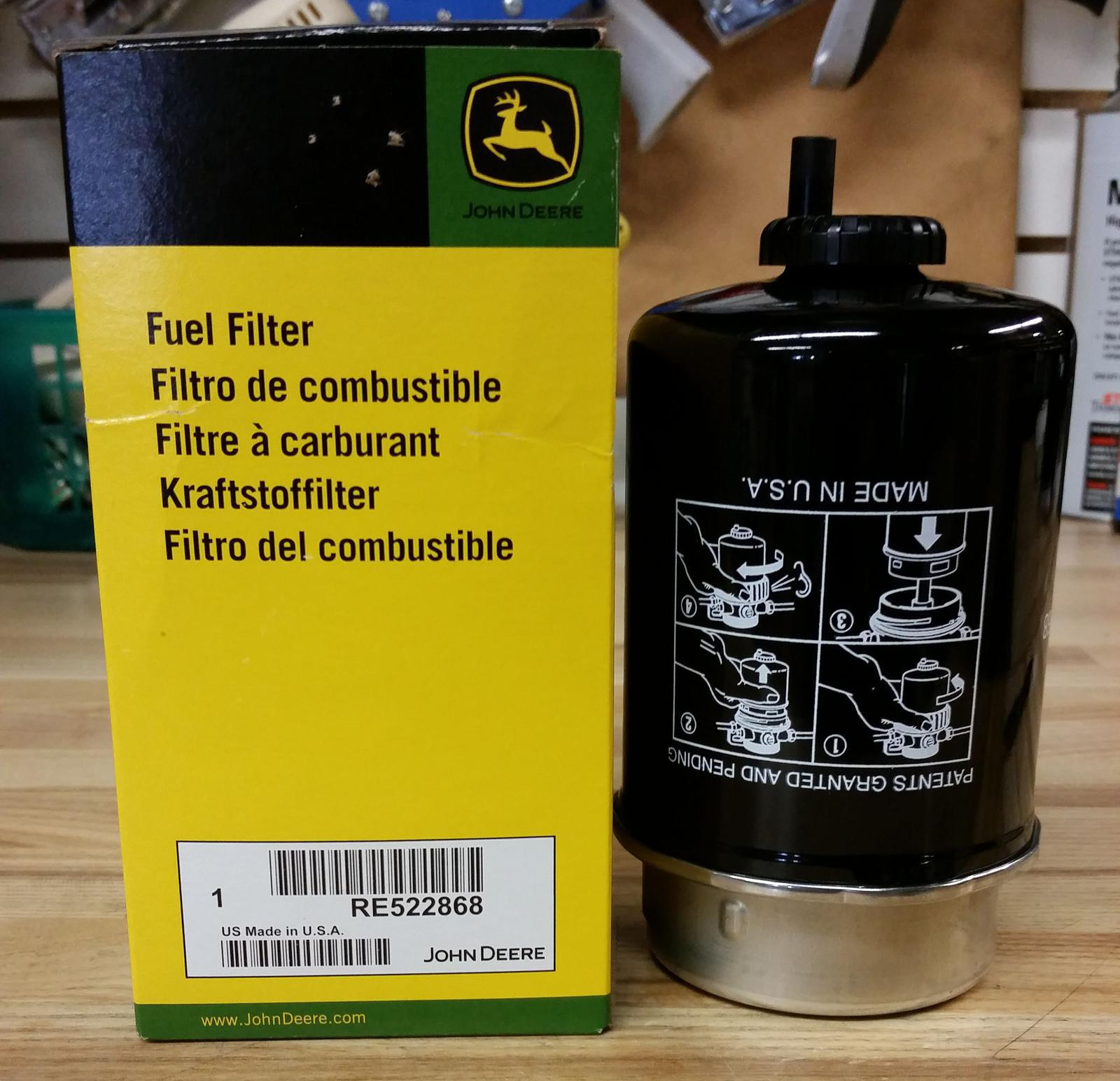John Deere Engine Fuel Filter For Sale In Two Rivers Wi Eis Filters