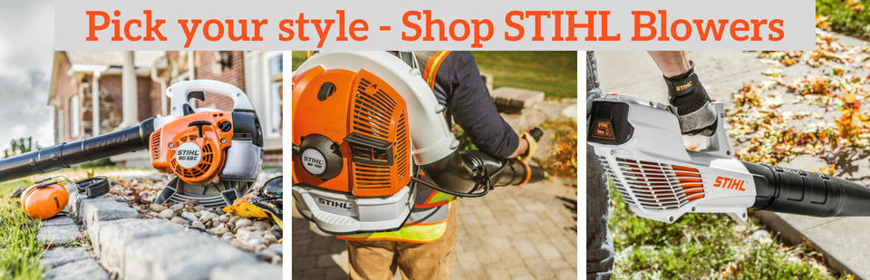 Pick Your Style - Shop STIHL Blowers
