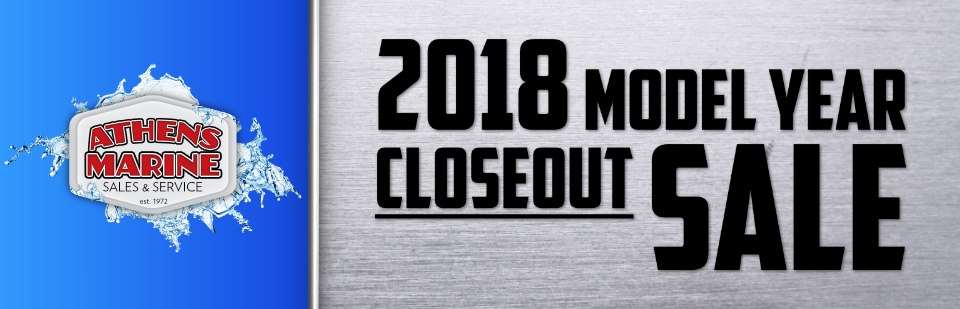 2018 Model Year Closeout Sale