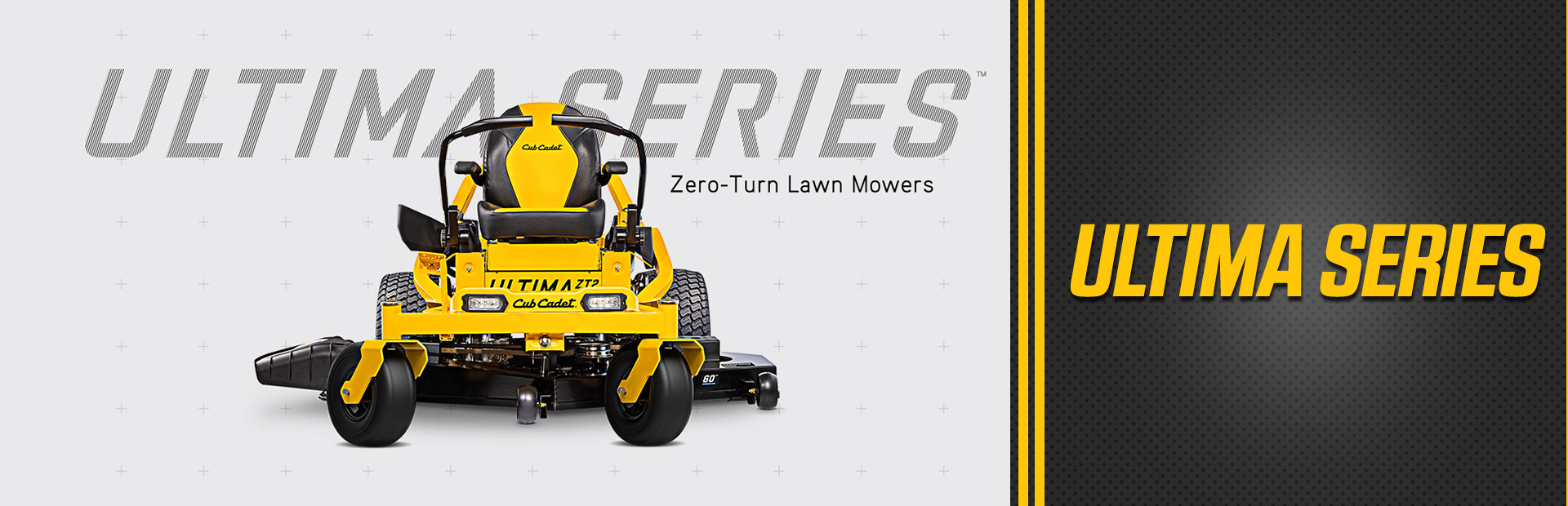 Ultima series Zero-Turn lawn mowers